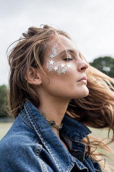 10 Glam and Glitter Make-up Looks // - karneval - Make up augen Makeup Inspo, Makeup Inspiration, Makeup Tips, Eye Makeup, Hair Makeup, Makeup Ideas, Party Makeup, Makeup Trends, Makeup Brushes