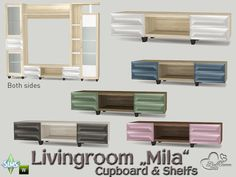 Part of the *Livingroom Mila* Found in TSR Category 'Sims 4 Miscellaneous Surfaces'