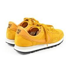 yellow gold & royal blue sneakers