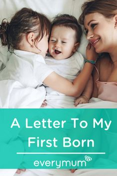 A Letter To My First Born. Mum of two Kate Silcock wrote 'A letter to my first', explaining how although mums might be prepared for the lack of sleep, nappy changes and colic, the guilt of having to divide your time and attention which used to belong only to one baby, might come as a surprise. Read on for Kate's gorgeous letter, which many of you might identify with. #firstborn #secondchild #secondbaby #momguilt #momlife Second Baby, Second Child, First Baby, Parenting Toddlers, Parenting Advice, First Born Child, Inspirational Blogs, Colic, Quotes About Motherhood