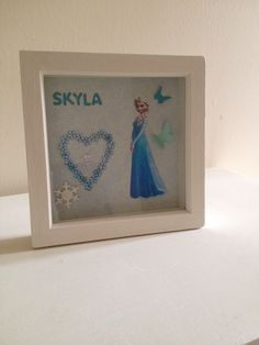 Elsa frame another great addition to you little girls room https://www.facebook.com/Leannescrafts140711?ref=bookmarks