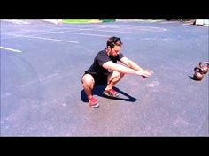 Hip Rotations - Improve Squat Posture, Mobility, and Depth. Learn more at http://www.youtube.com/user/supmuhhumbruh