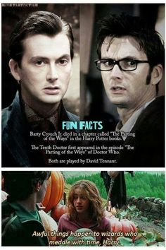 Dr who/Harry Potter