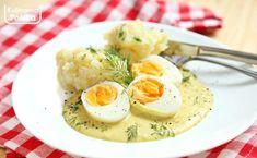 Obiad jak kiedyś: jajka w sosie musztardowym z tłuczonymi ziemniakami [PRZEPIS] Frittata, Mashed Potatoes, Food Porn, Food And Drink, Eggs, Breakfast, Ethnic Recipes, Per Diem, Food And Drinks