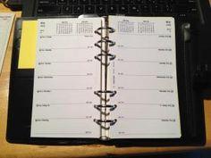 filofax personal printable pages/paige paigen