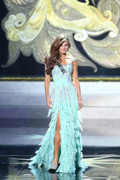 Beautiful Miss Universe dresses: Miss Ecuador