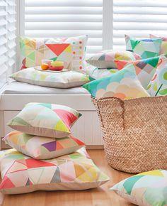 Perfect Pastel Cushions Dan 300 FPatterns - Geometric Pattern and Prints