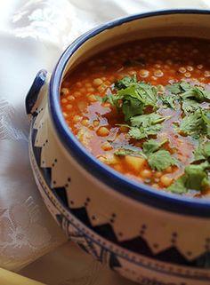 Berkoukes Soup with Pasta Bullets Healthy Dinner Recipes, Soup Recipes, Dessert Recipes, Algerian Recipes, Algerian Food, Plats Ramadan, Good Food, Yummy Food, Ramadan Recipes