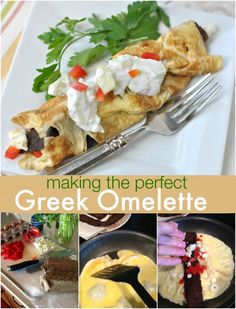 Greek Omelettes - Shugary Sweets