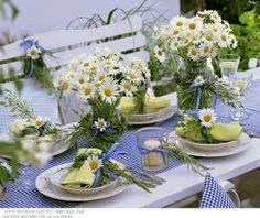 blue checkered tablecloth wedding theme - Google Search
