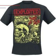 The Exploited Punks Not Dead Herren-T-Shirt - schwarz - Offizielles Merchandise Fasion, Fashion Outfits, Punk Fashion, Stylish Outfits, Punks Not Dead, Gaming Merch, Band Merch, Herren T Shirt, Workout Tops