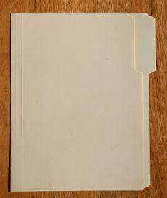 My Creative Scrapbook: How to Make a Mini Album Using a Manila File Folder by Kristin Greenwood