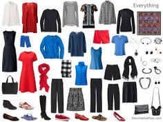 12 Months, 12 Outfits in 6 Capsule Wardrobes: September