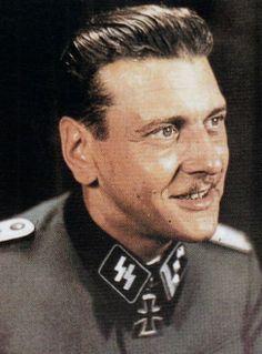 SS-Standartenführer Otto Skorzeny http://www.historicalwarmilitariaforum.com/topic/6937-ritterkreuztr%C3%A4ger-photos-in-color-thread/page-3