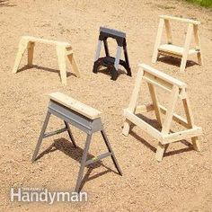 Sawhorse Plans | The Family Handyman