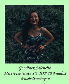 Good Luck to our Social and Marketing Director Michelle Jonck for being a finalist in the Top 20 @missfreestatesa 💃 and representing us every step of the way! Thank you for your hard work in helping people in need ⭐ we believe in you and enjoy the main event tomorrow ! #missfreestatesa #missfreestate #missfreestate2020 #webelieveinyou #5sth #5startohealth #charity #represent Michelle Rodrigues, Free State, People In Need, Five Star, Hard Work, Believe In You, Helping People, Charity, Marketing