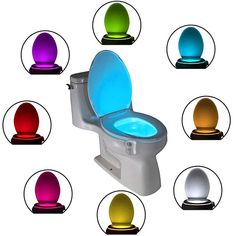 The Original Toilet Bowl Night Light Gadget Funny LED Motion Sensor Presents for Seat Novelty Bathroom Accessory Gift Cool Fun Unique Christmas Gifts Mother Father Birthday Men Women Dad Wife Grandad Mother Christmas Gifts, Unique Christmas Gifts, Christmas Images, Funny Christmas, Christmas Stocking, Christmas Ideas, Father Birthday, Funny Birthday, Birthday Gifts
