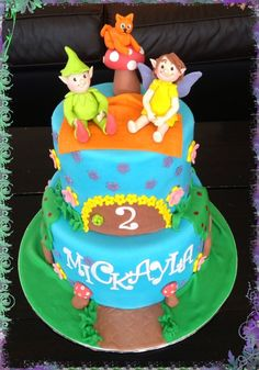 Fairy and Elf Cake