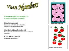 Beehive Learning. Number recognition: Teen Numbers. The aim of this program is to introduce children to teen numbers. They will see that teen numbe...