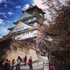 大阪城 天守閣 (Osaka Castle) : 大阪市, 大阪府