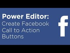 How to add Facebook Call to Action buttons to ads and posts - Video