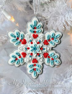 Hey, I found this really awesome Etsy listing at https://www.etsy.com/listing/187390415/handcrafted-polymer-clay-ornament