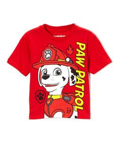 Love this Red 'Paw Patrol' Tee - Toddler by PAW Patrol on #zulily! #zulilyfinds