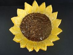 Once upon an Art Room: Van Gogh Sunflower Bowls Art Auction Projects, Clay Art Projects, Ceramics Projects, Clay Crafts, Ceramics Ideas, Art Crafts, School Projects, Van Gogh Sunflowers, Clay Studio