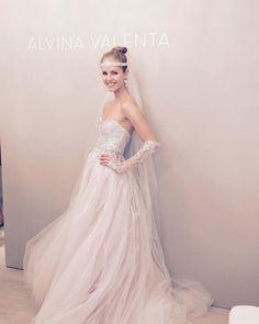 New York Bridal Fashion Week, wedding dress, bridal collection, alvina valenta