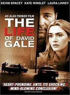 The Life of David Gale is a movie directed by Alan Parker, released in with Kevin Spacey, Kate Winslet, Laura Linney, Gabriel Mann. A man against capital punishment is accused of murdering a fellow activist and is sent to death row. Kevin Spacey, Kate Winslet, Hd Movies, Movies Online, Movie Tv, Watch Movies, Professor, Thriller, Alan Parker