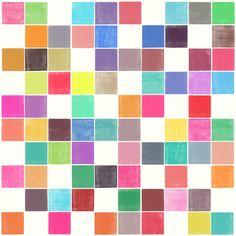 Colorquilt 1 - Art Print by Garima Dhawan/Society6