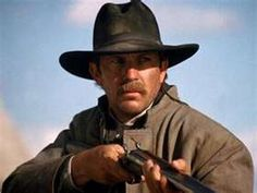 Kevin Costner as Wyatt Earp - I like Kevin as a western actor, but I did not enjoy this movie version of Wyatt Earp as I have others.