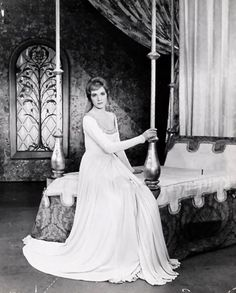 Julie Andrews in Camelot.