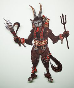 Krampus - from the art of Florian Bertmer. Really, REALLY fine artwork here!
