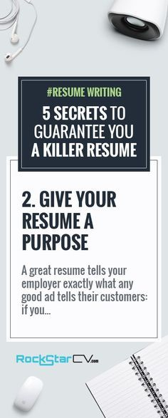 Resume Writing 5 Secrets to Guarantee You A Killer Resume - 5 resume tips