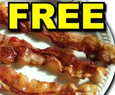"You're ""bacon"" us high, Waffle House! Print a coupon and get a FREE side of bacon with your next meal through May 30th, 2014 #bacon"