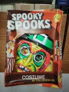 Witch Vintage 1970s Halloween Costume Spooky Spooks Size M (8-10 yr) NIB #Collegeville #Halloween Halloween Masks, Halloween Decorations, Vintage Halloween, 1970s, Witch, Ebay, Ideas, Witches, Witch Makeup