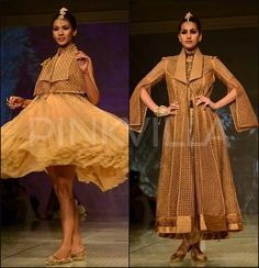 Tarun Tahiliani Collection at the BMW India Bridal Fashion Week 2014.