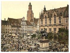 Zdjęcie numer 6 w galerii - Niemiecki Wrocław na kolorowych zdjęciach z amerykańskiej Biblioteki Kongresu