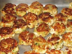 CrabCakes - traditional New England - recipe for FOUR but easily made into this fare!