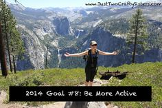 2014 Goals - Just Two Crafty Sisters Goal List, Healthy Life, Sisters, Goals, Crafty, Mountains, Travel, Healthy Living, Viajes