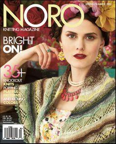 Magazine été tricot Noro 2013