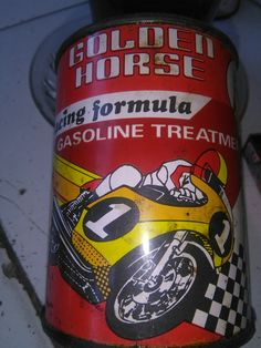 Motorcycle Oil Racing    Old Products Call Golden Horse