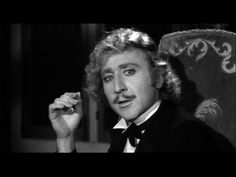 Gene Wilder as Dr. Frederick Frankenstein (that's frahnk-en-steen) in Young Frankenstein (1974). Possibly my favorite of all the Dr. Frankensteins!