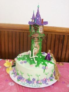 A Tangled 4Th Birthday - CakeCentral.com