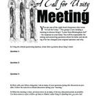 """Discussion Activity. In this activity students will enjoy role playing as one of the writers of """"A Call for Unity,"""" a letter written by prominent Alabama clergymen that served as the catalyst for Martin Luther King, Jr.'s famous """"Letter from Birmingham Jail."""" #teachers #lessons"""