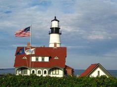 Portland Breakwater Lighthouse: Portland Lighthouse, full view