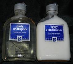 Back to Basics Daily Shampoo & Conditioner for Men 8.5 oz each #BacktoBasics