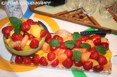 Melonen-Erdbeer-Salat - http://kathys-kuechenkampf.de/melonen-erdbeer-salat/