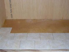 Tile floor tutorial